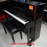 YAMAHA LX113 Upright Piano, Black, 10 years