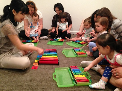 Little Kids Music Group Lesson