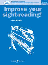Improve your Sight-reading Grade 1 Paul Harris (Piano)