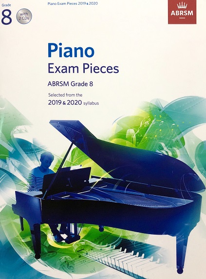 ABRSM Piano Exam Pieces 2019-2020 Grade 8 With CD