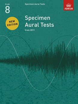 ABRSM Specimen Aural Tests, Grade 8 with CDs