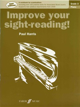 Improve your Sight-reading Grade 3 Paul Harris (Piano).