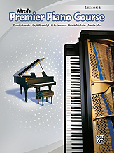 Alfred's Premier Piano Course: Lesson Book 6