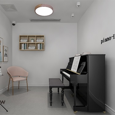 Piano studios, piano practice rooms for rent (Cost per hour)