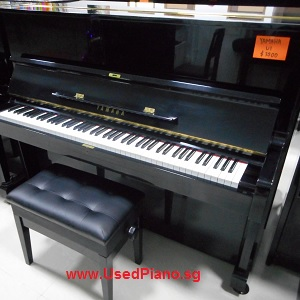 YAMAHA U1, black color, Japan imported, exam model