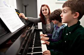 Group Piano Lesson For Little Children 3-5 Years Old